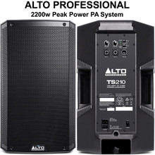 ALTO PROFESSIONAL TS210 2200w Total Peak Power PA System $20 Instant Coupon Use Promo Code: $20-OFF