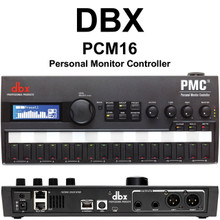 DBX PCM16 Personal Monitor Controller with BLU Link Ethernet USB $25 Instant Coupon Use Promo Code: $25-OFF