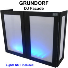 GRUNDORF GS-LS4863T DJ Facade with Black Ribs and White Lycra Panels