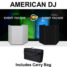 AMERICAN DJ EVENT FACADE BL with Reversible Black or White Scrims & Carry Bag $5 Instant Coupon Use Promo Code: $5-OFF