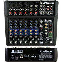 ALTO PROFESSIONAL ZEPHYR ZMX122FX 8 Channel Compact Audio FX Mixer $5 Instant Coupon Use Promo Code: $5-OFF