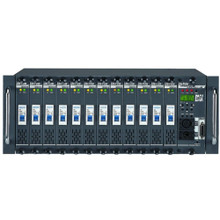 LITE-PUTER DX1220 12 Channels @ 2400w with 28800w Total Rackmount Dimmer Pack