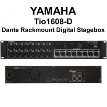 YAMAHA Tio1608-D Dante Rackmount Digital CAT5e I/O Stagebox $50 Instant Coupon Use Promo Code: $50-OFF