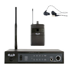 CAD STAGESELECT IEM Complete Personal In Ear Wireless Rackmount Monitor System