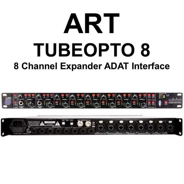 art tubeopto 8 channel rackmount digital preamp expander adat interface 15 instant coupon use. Black Bedroom Furniture Sets. Home Design Ideas