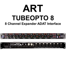 ART TUBEOPTO 8 Channel Rackmount Digital Preamp Expander ADAT Interface