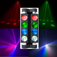 MARQ RAY TRACER X QUAD 8 Head Moving Multi-Color FX Light