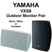 "YAMAHA VXS Series 8"" Outdoor Monitor Pair $30 Instant Coupon Use Promo Code: $30-OFF"