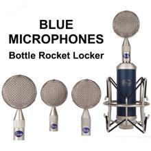 BLUE MICROPHONES BOTTLE ROCKET MIC LOCKER 4 Capsule Mic Package