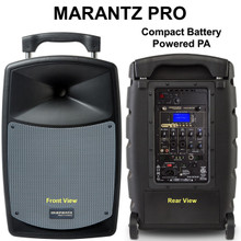 MARANTZ PRO VOICE ROVER Bluetooth Battery Powered PA Wireless Mic Mp3 Player System $10 Instant Coupon Use Promo Code: $10-OFF