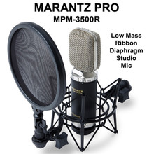 MARANTZ PRO MPM-3500R Ribbon Diaphragm Studio Vocal Mic $5 Instant Coupon Use Promo Code: $5-OFF