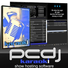 PCDJ KARAOKI Show Hosting CD Software Package Designed for Professional KJ's