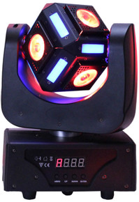 BLIZZARD SNAKE EYES MINI RGBW LED Moving Head FX Light $5 Instant Coupon Use Promo Code: $5-OFF