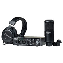 STEINBERG UR22CRP RECORDING PACK Interface, Mic, Headphone, Software & Cables