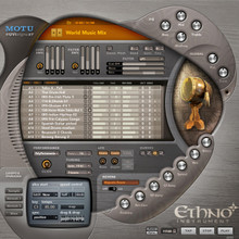MOTU ETHNO-2 21GB Library of Virtual World Ethnic Instruments