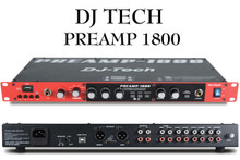 DJ TECH PREAMP 1800 1U Rackmount USB Player and Recorder $10 Instant Coupon use Promo Code: $10-OFF