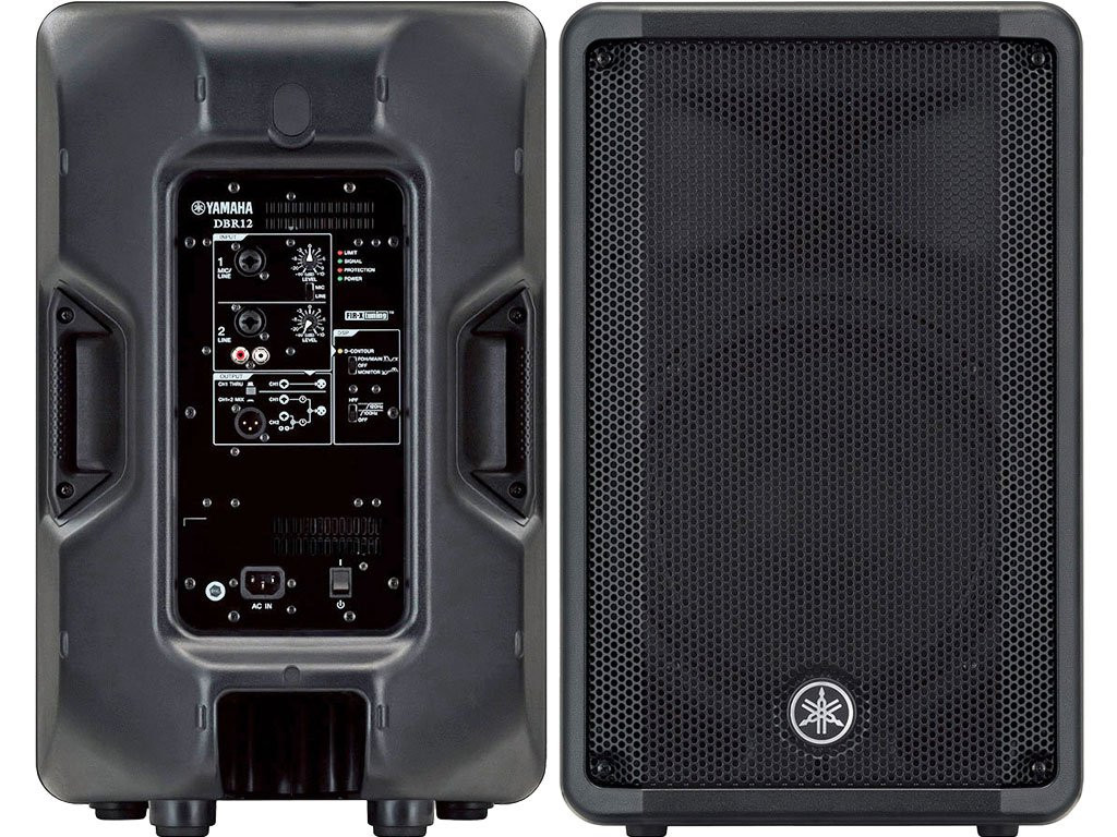 YAMAHA DBR10 Lightweight 1400w Total Active PA Speaker System Pair $30  Instant Coupon Use Promo Code: $30-OFF