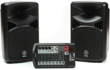 YAMAHA STAGEPAS 400i Powered PA System with Cables and Optional Speaker Stands $30 Instant Coupon Use Promo Code: $30-OFF