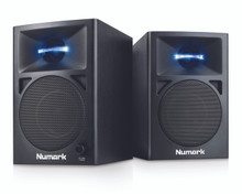 NUMARK NWAVE 360 Illuminated LED Nearfield Reference Monitor Pair $5 Instant Coupon use Promo Code: $5-OFF