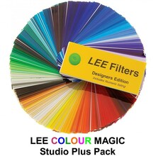 "Lee Colour Magic Series Studio Plus Pack (6) 12"" x 10"" Filters"