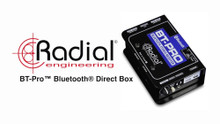 RADIAL ENGINEERING BT-PRO Bluetooth Professional No Interference Direct Box $5 Instant Coupon Use Promo Code: $5-OFF