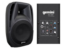 GEMINI ES-08P Compact 600w Total PA Speaker System Pair $10 Instant Coupon use Promo Code: $10-OFF