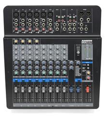 SAMSON MXP144FX MixPad 14-Channel Analog Stereo Desktop USB FX Audio Mixer