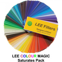 "Lee Colour Magic Series Saturates Pack (12) 12"" x 10"" Filters"