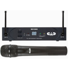 CAD STAGEPAS WX1600 Handheld Wireless Mic System $10 Instant Coupon use Promo Code: $10-OFF