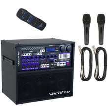 VOCOPRO HERO-BASIC All-In-One Recording / Entertainment System 2 Wired Mics, Cables & Remote $60 Instant Coupon Use Promo Code: $60-OFF