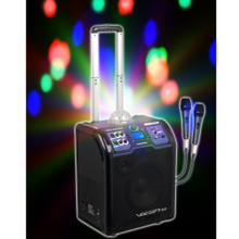 VOCOPRO LIGHTSHOW Karaoke Bluetooth Rechargeable Battery System with LED Lights $5 Instant Coupon Use Promo Code: $5-OFF