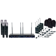 VOCOPRO DIGITAL-34-ULTRA Mix & Match 8 Mic & Instrument Wireless System $10 Instant Coupon Use Promo Code: $10-OFF