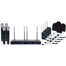 VOCOPRO DIGITAL-34-ULTRA Mix & Match 8 Mic & Instrument Wireless System