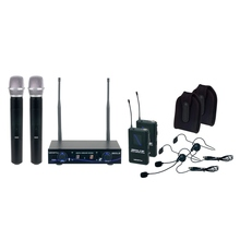 VOCOPRO DIGITAL-32-ULTRA Mix & Match 4 Mic & Instrument Wireless System