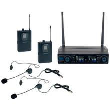 VOCOPRO DIGITAL-2B Dual Ergonomic Headset Wireless Mic System $5 Instant Coupon use Promo Code: $5-OFF