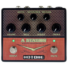 HOTONE A STATION Guitar Acoustic Preamp Stompbox