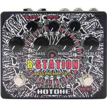 HOTONE B STATION Bass Guitar Preamp Stompbox $5 Instant Coupon use Promo Code: $5-OFF
