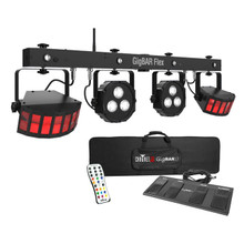 CHAUVET DJ GIGBAR FLEX Complete Wireless Foot Control 3n1 Led / Derby / Quad Par / UV Remote System $5 Instant Coupon Use Promo Code: $5-OFF