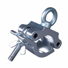 """TECHNI-LUX CHEESEBOROUGH HOOK RING 1100lb Aluminum Clamp Fits 1.9"""" - 2"""" Truss or Pipe"""