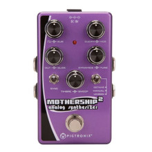 PIGTRONIX MOTHERSHIP 2 Analog 3-Voice Synthesizer for Guitar or Bass $5 Instant Coupon Use Promo Code: $5-OFF