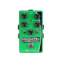 PIGTRONIX RINGMASTER ANALOG MULTIPLIER Harmonizer / Tremolo FX Guitar Pedal $5 Instant Coupon Use Promo Code: $5-OFF