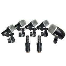 CAD STAGE7 7-Piece Microphone Drum Pack with Carry Case
