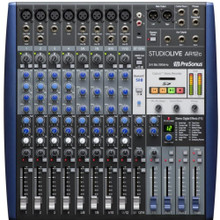 PRESONUS STUDIOLIVE AR12c Hybrid Bluetooth Built-in SD Recorder & Software Audio Mixer $10 Instant Coupon use Promo Code: $10-OFF