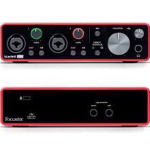 FOCUSRITE SCARLETT 2i2 (3rd Gen) 2x2 USB (Type C-A) Audio Interface with Software
