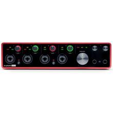 FOCUSRITE SCARLETT 18i8 (3rd Gen) Recording Studio USB Interface with Software