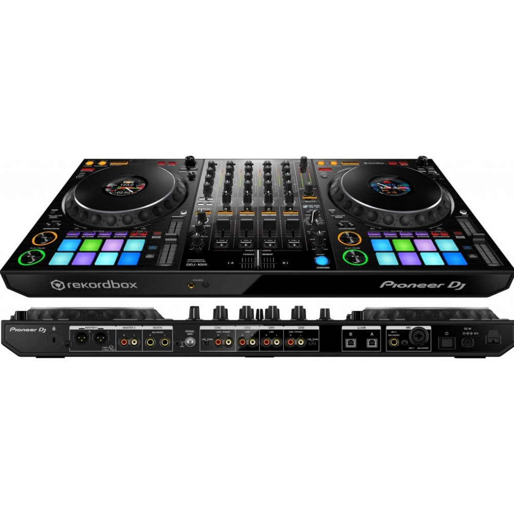 PIONEER DDJ-1000 4 Channel Rekordbox DJ Controller with 16 Performance Pads  $25 Instant Coupon Use Promo Code: $25-OFF