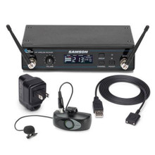 SAMSON AIRLINE ALX SWSATXLM8 Rechargeable Lithium-ion Wireless Lavalier Mic System $10 Instant Coupon Use Promo Code: $10-OFF