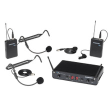 SAMSON CONCERT 288 PRESENTATION Dual Wireless Headset & Lavalier Mic System