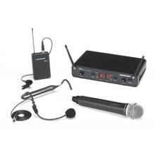 SAMSON CONCERT 288 ALL IN ONE Dual Wireless Headset & Handheld Mic System
