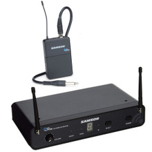 SAMSON CONCERT 88 SWC88BGT-D Wireless Guitar Instrument System with Rackmount Kit $5 Instant Coupon Use Promo Code: $5-OFF